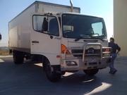 Hino Ranger 9 ,  9.5 tonne Pantech with tailgate