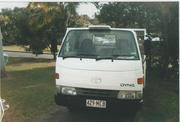 TOYOTA DYNA  150 TRAY TRUCK, A GOOD WORK HORSE AND, GOOD FOR TRADIES...