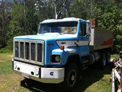 Tip Truck - International sline tipper